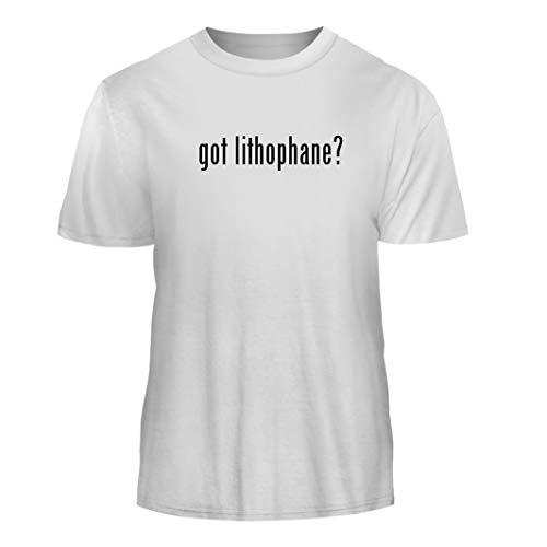 Tracy Gifts got Lithophane? - Nice Men's Short Sleeve T-Shirt, White, X-Large ()