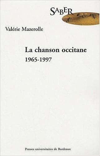 Livres gratuits La chanson occitane 1965-1997 epub, pdf