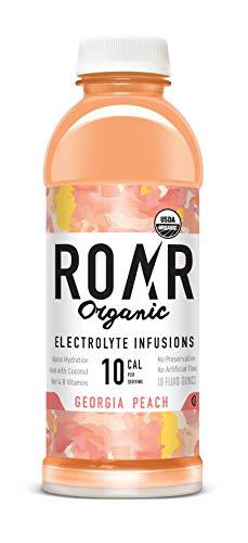 ROAR Organic Electrolyte Infusion – 12-Pack – USDA Organic,...