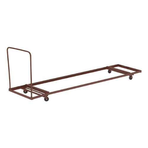 - National Public Seating Flat Stacking Table Cart