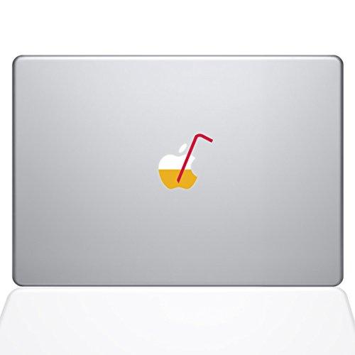 The Decal Guru Apple Juice with Straw Decal Vinyl Sticker, 13