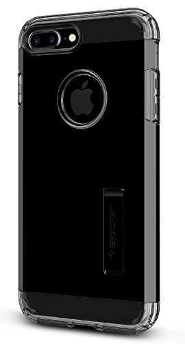 Spigen Tough Armor Designed for Apple iPhone 7 Plus Case (2016) / Designed for iPhone 8 Plus Case (2017) - Jet Black