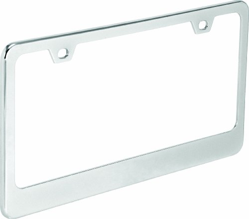 Bell Automotive 22-1-46215-8 Universal Chrome Classic Dealer License Plate Frame