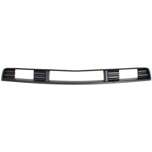 New Front Bumper Grille For 2006-2009 Ford Mustang Textured Gray, With Pony Package, Base, Deluxe & Premium Model FO1036121 6R3Z17K945AA ()
