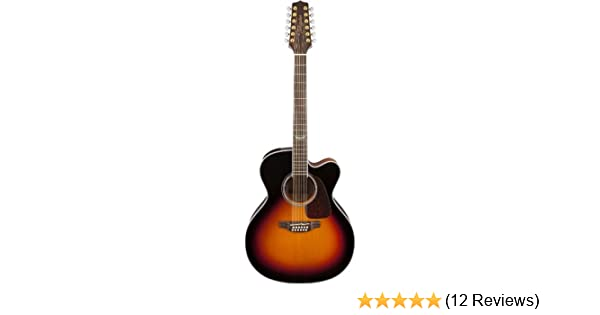 Takamine GD30CE12 12-String Dreadnought Acoustic-Electric Guitar bott Natural