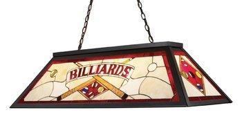 Elk 70053-4 Tiffany Game Room-Lighting 4-Light Billiard Light, 18-Inch, Tiffany Bronze Metal