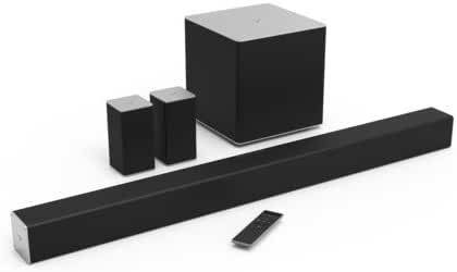 VIZIO SB4051-C0 40-Inch 5.1 Sound Bar System with Wireless Subwoofer & Rear Satellite Speakers