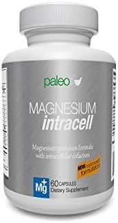 Magnesium INTRACELL - Paleo Life - High Absorption Magnesium Intracell 500 mg - Powerful Formula with Taurine, Folic Acid, Vitamin B6, B12 Vitamin (1)