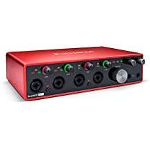 Focusrite Scarlett 18i8 18x8 USB Audio Interface 3rd Gen for Producers/Bands (Renewed)