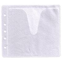 1,000 CD Double-sided Refill Plastic Sleeve White