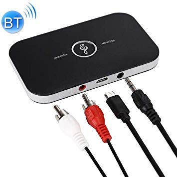 Uniqus 2 in1 HiFi blueetooth Audio Transmitter Receiver Adapter Portable Audio Player