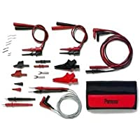 Pomona 5677B Deluxe Multi Use DMM Maxi Test Lead Kit by Pomona