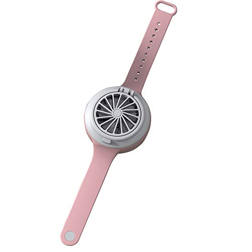 Faraone4w Personal Fan Ultra-Quiet Third Gear Speed Electric Mini Watch Fan Creative USB Charging Fans Portable Children Fan Practical Durable Mini Fans Student Gift