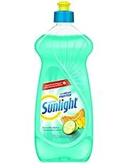 Sunlight 2457635 Sunlight Ultra Sensorial Dishwashing Liquid, Cucumber Melon, 562mL, Blue
