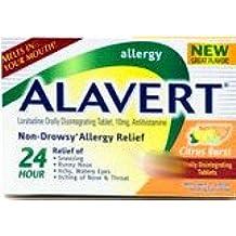 Alavert Non Drowsy Allergy Relief Tablets Original Citrus Burst flavor, Bonus Size 50% more 18 Tablets