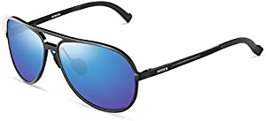 b389468823cb ENTER Unisex Polarized Mirrored Reflective Sunglasses UV400 Protective  Metal Driving Sunglasses imgproduct