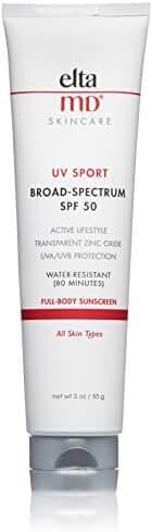 EltaMD UV Sport Broad-Spectrum SPF 50, 3.0 oz