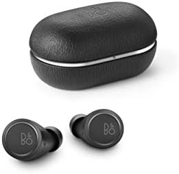 Bang & Olufsen Beoplay E8 third Generation True Wireless in-Ear Bluetooth Earphones, with Microphones and Touch Control, Wireless Charging Case, 35-Hour Playtime, Black