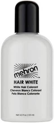 Mehron Makeup Hair White (4.5 ounce)