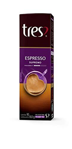 Cápsula Espresso Supremo Três Corações