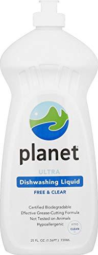 Planet Ultra Dishwashing Liquid, 25 Fluid Ounce