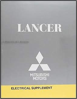 [DIAGRAM_4FR]  2009 Mitsubishi Lancer Wiring Diagram Manual Original: Mitsubishi:  Amazon.com: Books | Wiring Diagram Of Mitsubishi Lancer |  | Amazon.com