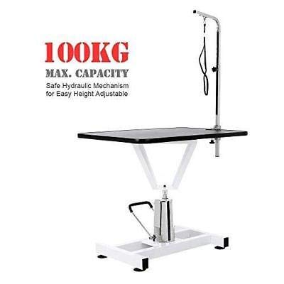 Generic k Hydraulicimming Grooming Cat Trimming Large Adjustable Beauty Grooming Table Pet Dog Desk Hydraulic Large Adjustable Beauty P