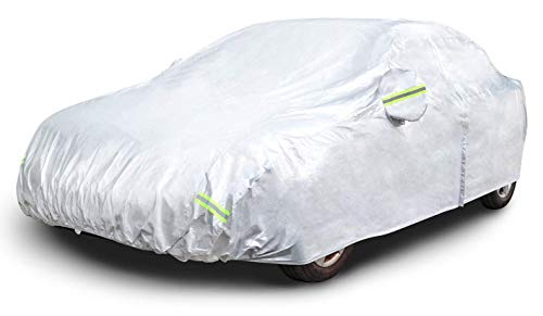 AmazonBasics Silver Weatherproof Car