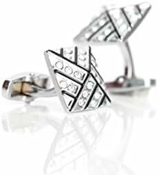 Elegant Jeweled Cufflinks
