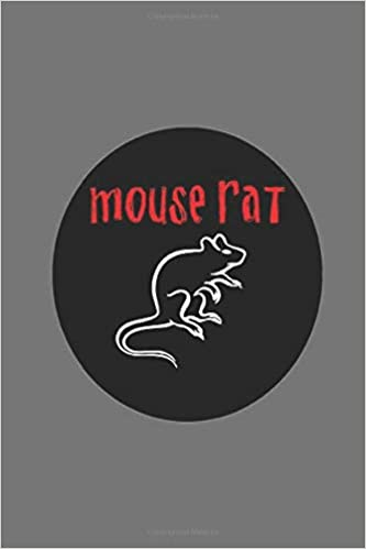 Mouse Rat: Wide Ruled Notebook, Journal for Writing, Size 6 ...