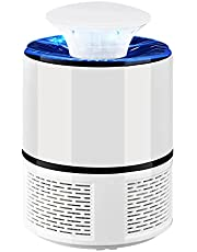 Rookin Bug Zapper Mosquito Lamp Portable Mosquito Killing Lamp Insect Lamp USB Power Supply Low Noise & Low Power Consumption for Home Office Bedroom