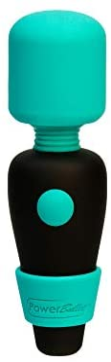 pure love Pocket Vibrator, Mini Massage Wand, Powerful Powerbullet Motor, Rechargeable Personal Body Massager,