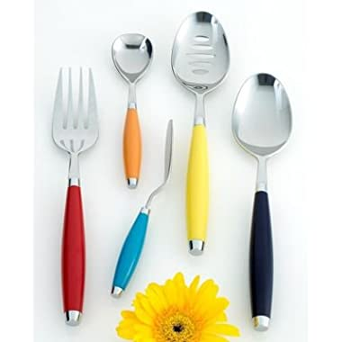 Fiesta 5-pc. Multicolor Serving Utensil Set