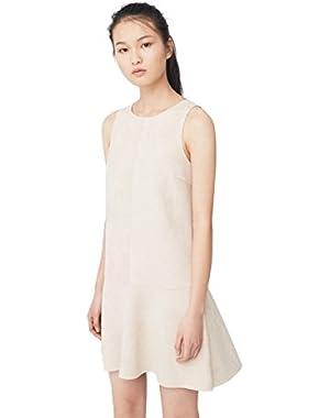 Mango Women's Neoprene-Effect Dress