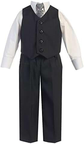 iGirlDress Little Boys Vest Pants Special Occasion Easter Outfit Set Infant-14