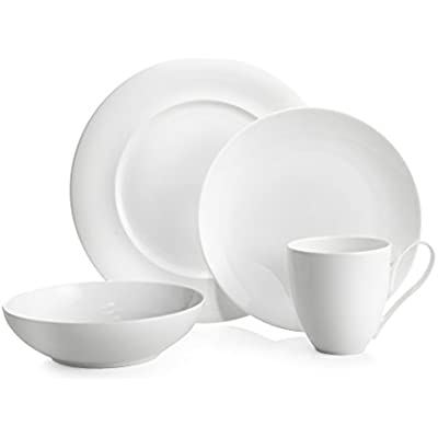 Click for Namb? MT0854 4-Piece Place Setting Dinnerware, White