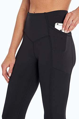 Jessica Simpson Sportswear Ace Pocket Capri Legging, Meteorite, X-Large
