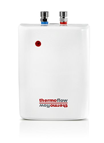 hot+Water+Heater Products : 5.5kW Point of Use Tankless Water Heater - High Efficiency Instant Hot Water Heater Electric 5.5 kW, 240V - Consistent Hot Water On Demand for Single Point of Use, Under Sink