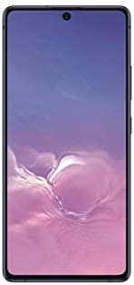 Simple Mobile SAMSUNG Galaxy S10 Lite 4G LTE Prepaid Smartphone (Locked) - Black - 128GB - Sim Card Included - GSM (SMSAG770U1GP5)