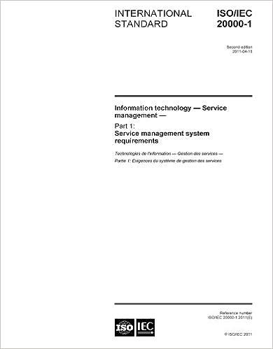 ISO 20000 PDF PORTUGUES EBOOK DOWNLOAD