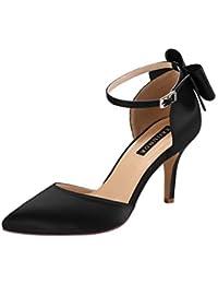 Wedding Evening Party Shoes Comfortable Mid Heels Pumps...