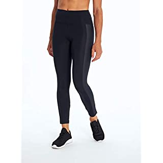 Bally Total Fitness Kylie High Rise Ankle Legging, Black, Large