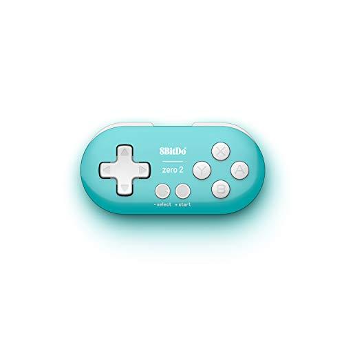 8Bitdo Zero 2 Bluetooth Gamepad(Turquoise Edition) - Nintendo Switch