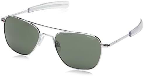 Randolph Aviator Sunglasses, 55 mm