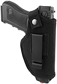 T.Y.G.F Concealed Carry Holster, Universal Holster Carry Inside or Outside The Waistband for Right and Left Ha