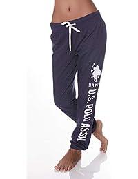 Womens Elastic Waist Ankles Drawstring Sleep Yoga Pajama...