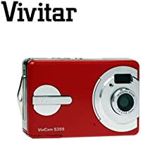 VIVITAR ViviCam 5399 RED 5.0MP DIGITAL CAMERA