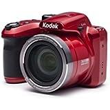 Kodak 16 Astro Zoom AZ365 with 3 LCD, Red (AZ365-RD)