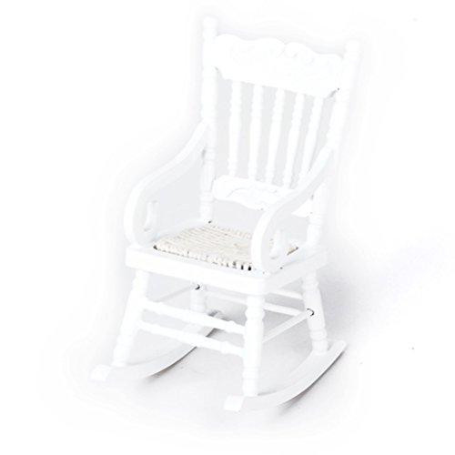 Tinksky Dollhouse Wooden Chair