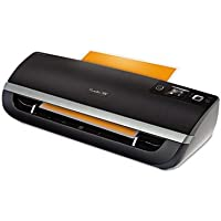 Fusion 5100L Laminator Plus Pack with Ext Warranty and Pouches, Black/Silver